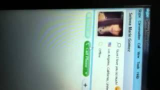 Selena Gomez's Skype Name