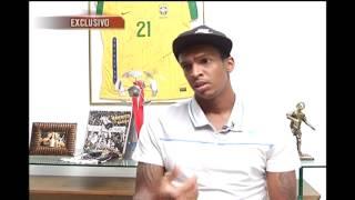 O TV Alterosa exibiu hoje uma entrevista exclusiva com Jô, atacante da Seleção Brasileira. Conheça um pouco mais da história do jogador e o trajeto percorrido por ele até chegar à Seleção.