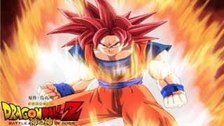 Dragon Ball Z Battle Of Gods Super Saiyan God Goku