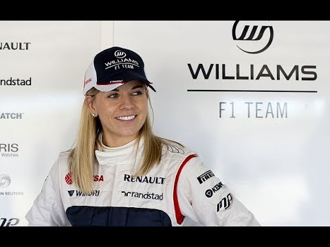 Susie Wolff - First woman in 22 years to drive in F1