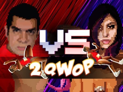 """LOOK WHOS QWOPPING"" - 2qwop (Husband Vs. Wife)"