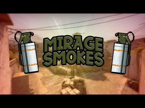 Mirage Smokes, Molotov's & Flashbangs + tips | Argentina CS:GO