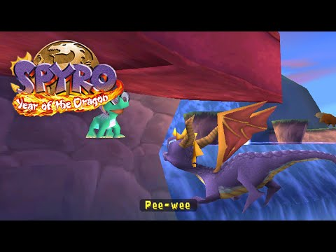 Spyro 3: Year of the Dragon - Hidden Egg in Bamboo Terrace,