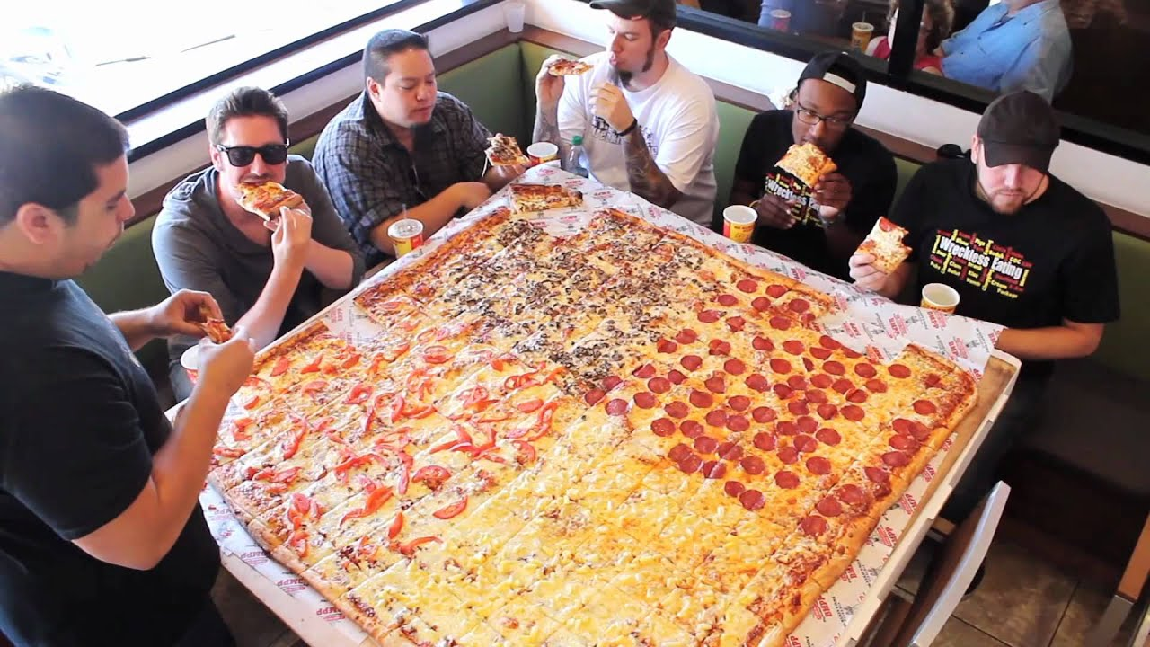 Man Vs Food Hot Dog New York