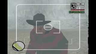 GTA:SA Freddy Krueger Found