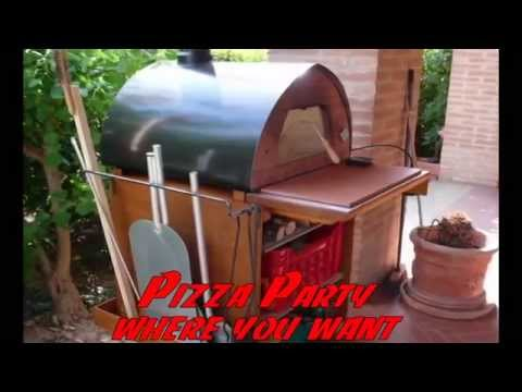 PIZZA PARTY - forno a lenha para pizza - como fazer pizza italiana - como assado e churrasco