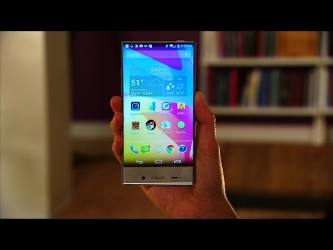 Going edge-free with Sharp's Aquos Crystal