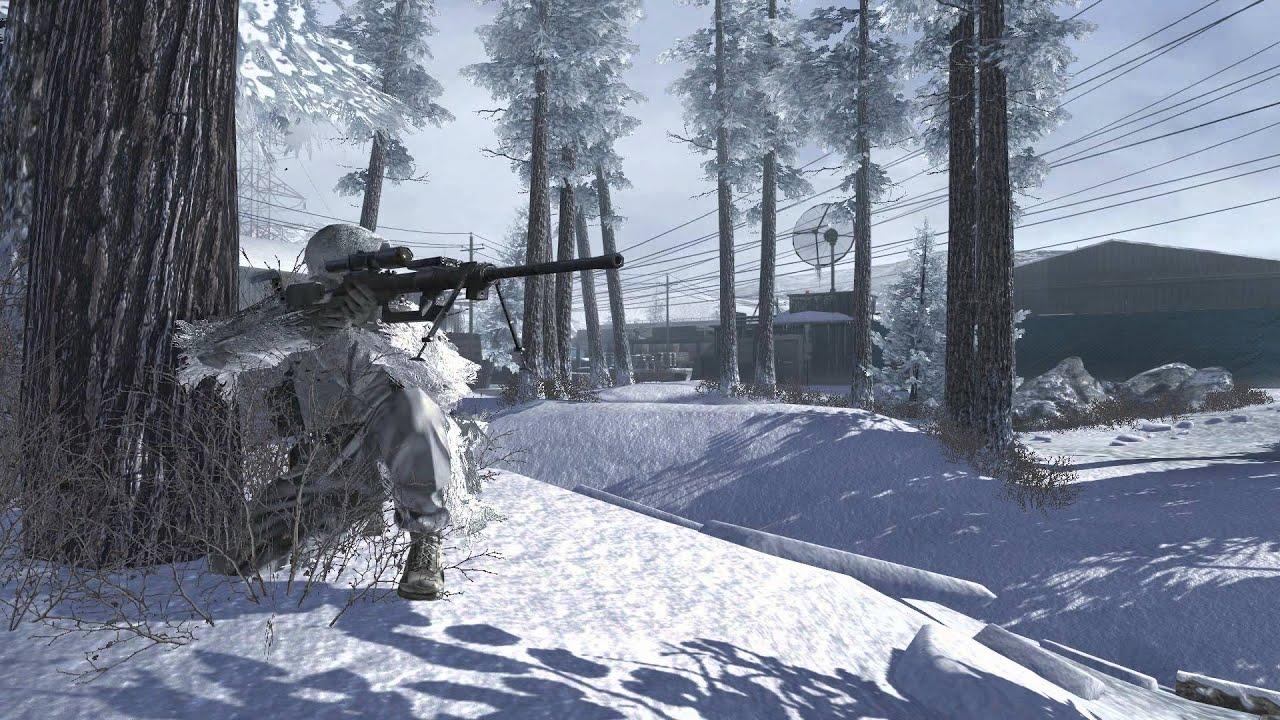 modern warfare 2 sniper wallpaper, pc modern warfare 2 sniper