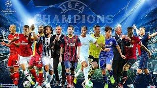 Los 15 Máximos Goleadores De La Champions League / Hasta