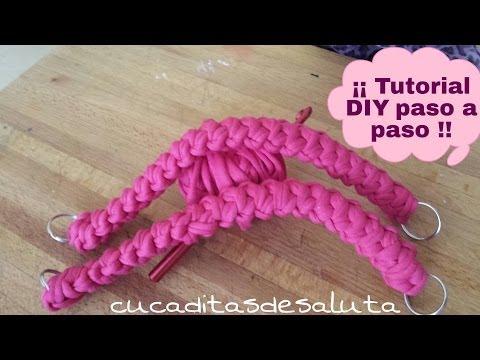 Como hacer Asas de Trapillo  ¡¡ Tutorial DIY !!