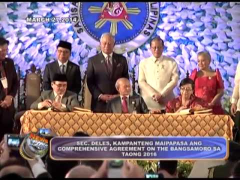 Sec. Deles, confident on Comprehensive Agreement on the Bangsamoro's approval