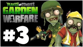 Plants vs. Zombies Garden Warfare - ZOMBIES!! Online Multiplayer - PART 3 (Xbox One)