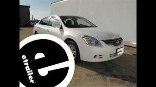 Installation Of A Trailer Hitch On A 2012 Nissan Altima