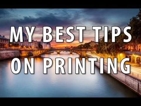 My best tips on getting good prints on your printer or with a pro lab - PLP # 56 by Serge Ramelli