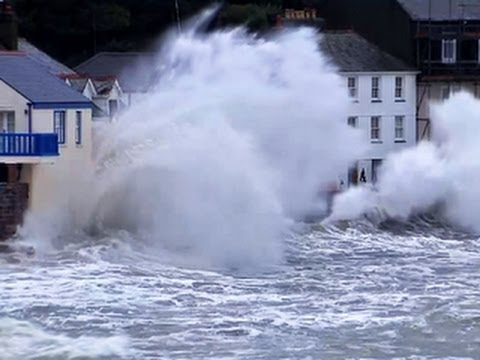 U.S. winter storms bring record floods to Britain