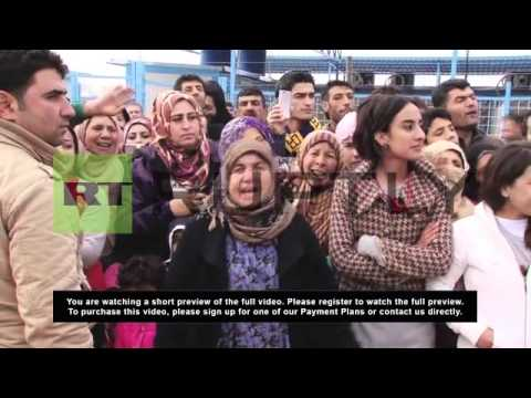Iraq: UN Secretary-General promises support to Syrian refugees