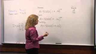 College Algebra: Lecture 21 - Interesting Applications