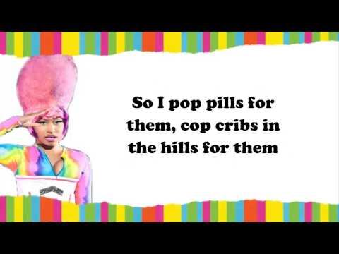 Nicki Minaj - pills n potions lyrics