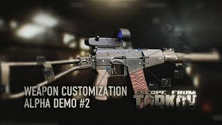 Escape from Tarkov - Alpha weapon customization 2