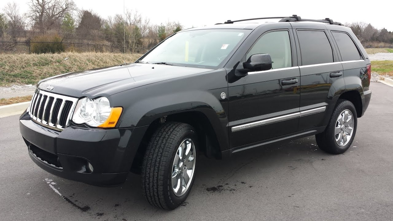 jeep grand cherokee limited 4x4 5 7 hemi 94k black with navigation youtube. Black Bedroom Furniture Sets. Home Design Ideas
