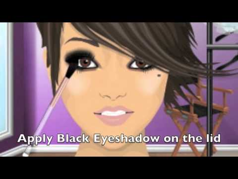 Stardoll Make-Up Tutorial - The Saays Inspired Look (5 looks in 1) (#96), This video is how to look like each of the girls in the Saays :) Hope you like it :) x