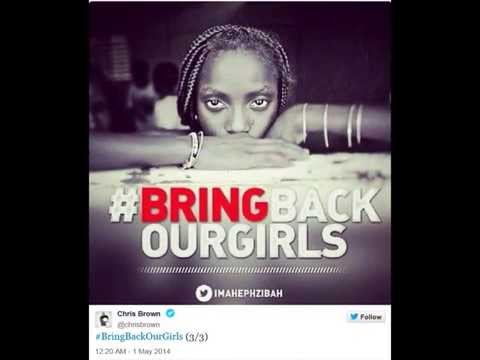 CELEBRITIES Join #BringBackOurGirls Social Campaign (5/7/14)
