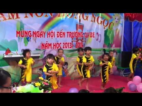 aerobic troi nang troi mua - MNHong Ngoc