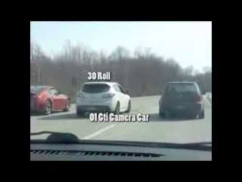 370z vs  Tuned Mazdaspeed3 vs K04 GTI vs. K03 GTI