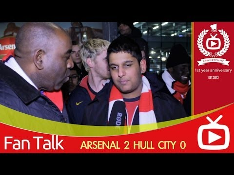 Arsenal 2 Hull City 0 - Bendtner Played Well -  ArsenalFanTV.com