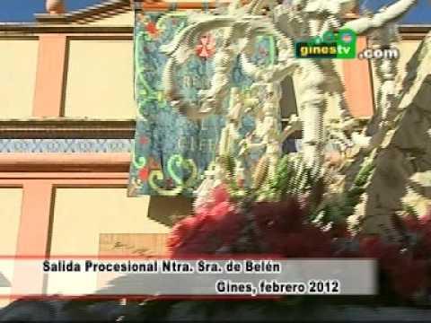 Salida Procesional de Nuestra Señora de Belén. Reportaje