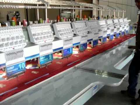 maquina de bordar eletrônica DMP (Lupper Maquinas-Ibitinga-SP) 16-3342-5019