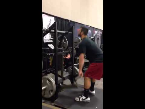 Pit Shark Flat Row/Pull Deadlifts