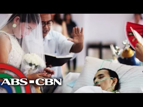 Cancer patient marries his girlfriend inside the hospital