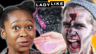 We Tried Lush Halloween Jelly Bath Bombs • Ladylike