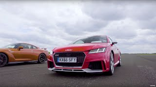 Nissan GT-R vs Audi TT RS - Top Gear: Drag Races. Watch online.