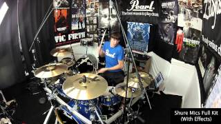 My Pearl Session Studio Classic Kit Tour & Sound Test