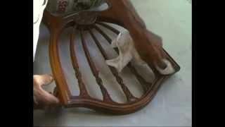 Reparar una silla con una pata rota
