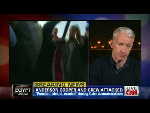CNN: Anderson Cooper recounts Cairo attack