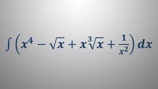 Nedoločeni integral 10