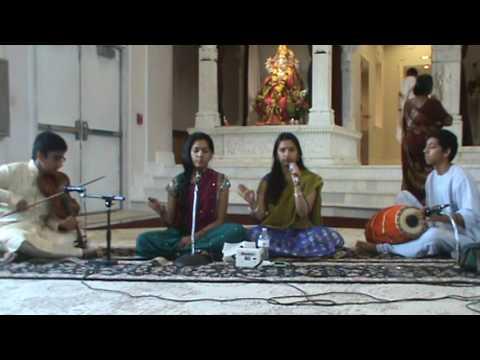 Bhajans by Sravya & Shreya