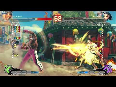 uramakiroll [Ibuki] vs JinwooEVE02 [Adon] -- unanuko [DeeJay] vs ororoy [Rose] SSF4 Japanese Ranked