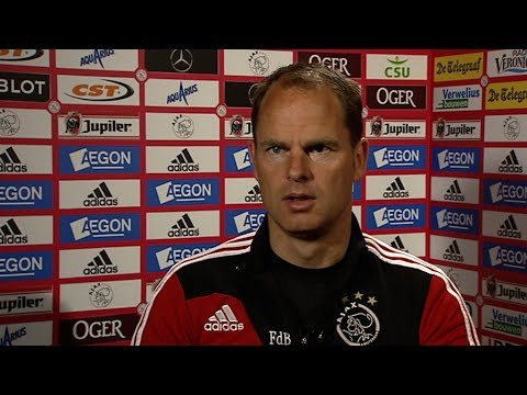 Frank de Boer over 'succestrio'