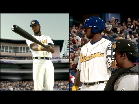 MLB 14 The Show Road to the Show PS4 - MLB Draft & 1st Game in Minor League