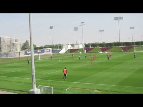 Red Bull Salzburg Team Training Doha 2014 - 2