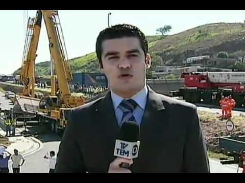 Thiago Ariosi (Globo Notícia) Acidente na rod Raposo Tavares