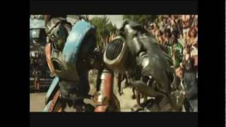 Real Steel Atom Vs Metro (Movie Scene)
