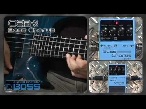 Boss CEB3 Bass Chorus Stompbox