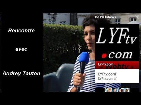 Rencontre avec Audrey Tautou