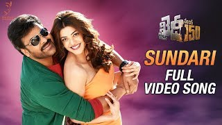 Khaidi No 150 Movie Sundari Full Video Song