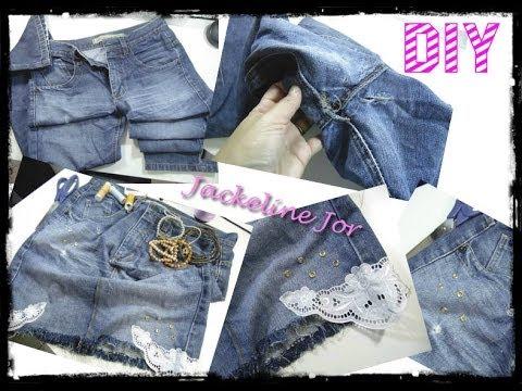 Como reaproveitar calças jeans velhas